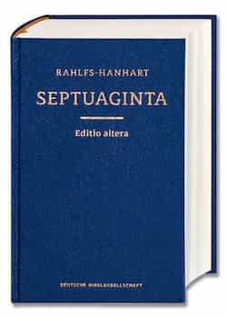 The Septuagint Greek Bible