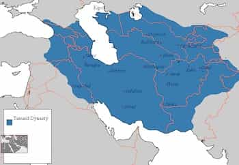 Map of Timurid Empire