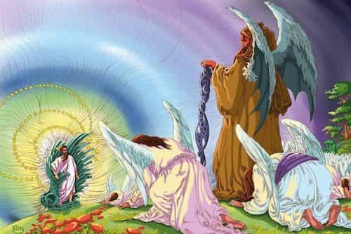 Angels Prostration To Adam